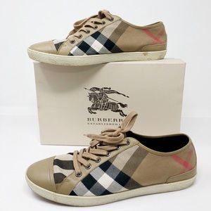 Burberry Lace-up Low House Bova Check Sneaker 41